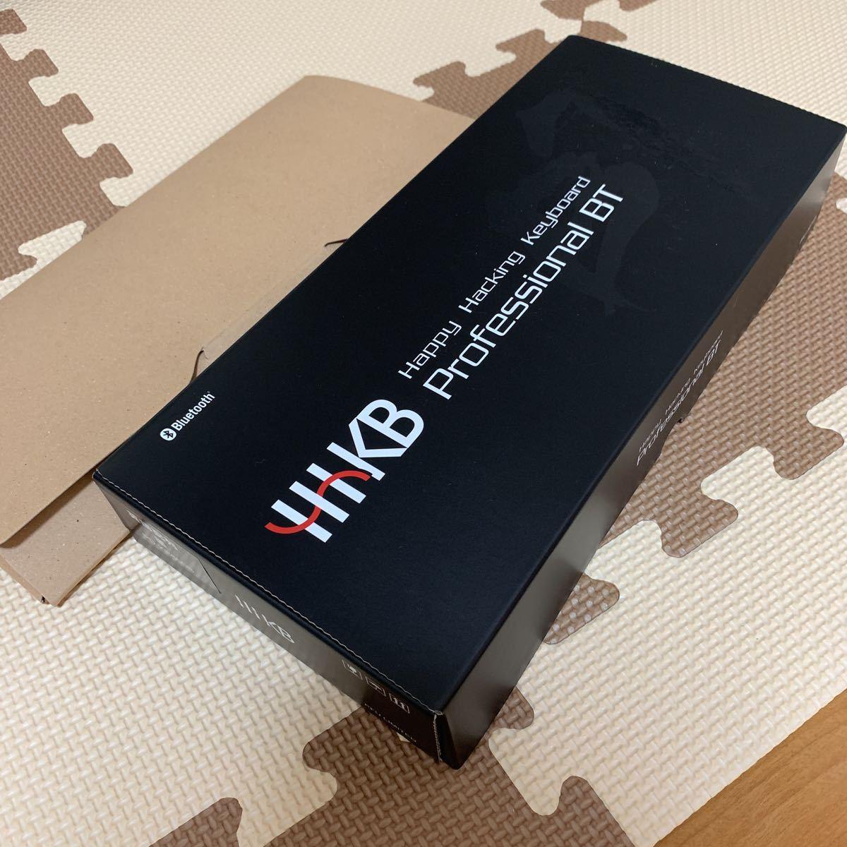 【中古美品】HHKB Professional BT PD-KB600B 墨 英語配列モデル かな無刻印 USキーボード おまけキーボードブリッジ_画像7