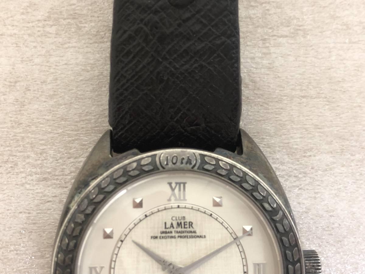 CITIZEN/シチズン/CLUB LAMER/クラブラメール/6630-664604/10th/10周年/自動巻/腕時計/SV925/ステンレス/