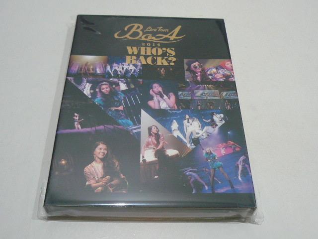 ★BoA DVD『LIVE TOUR 2014 ~WHO'S BACK?~』★