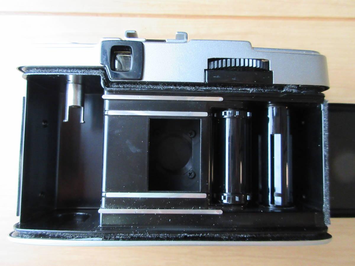 OLYMPUS-PEN EE-3 Olympus D. Zuiko 1:3.5 f=28mm ハーフカメラ シャッター切れます_画像9