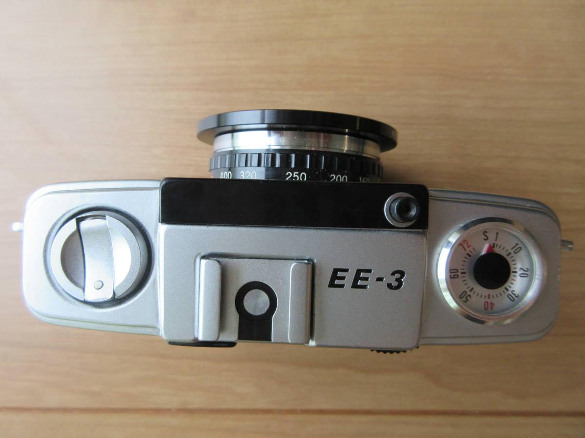 OLYMPUS-PEN EE-3 Olympus D. Zuiko 1:3.5 f=28mm ハーフカメラ シャッター切れます_画像6
