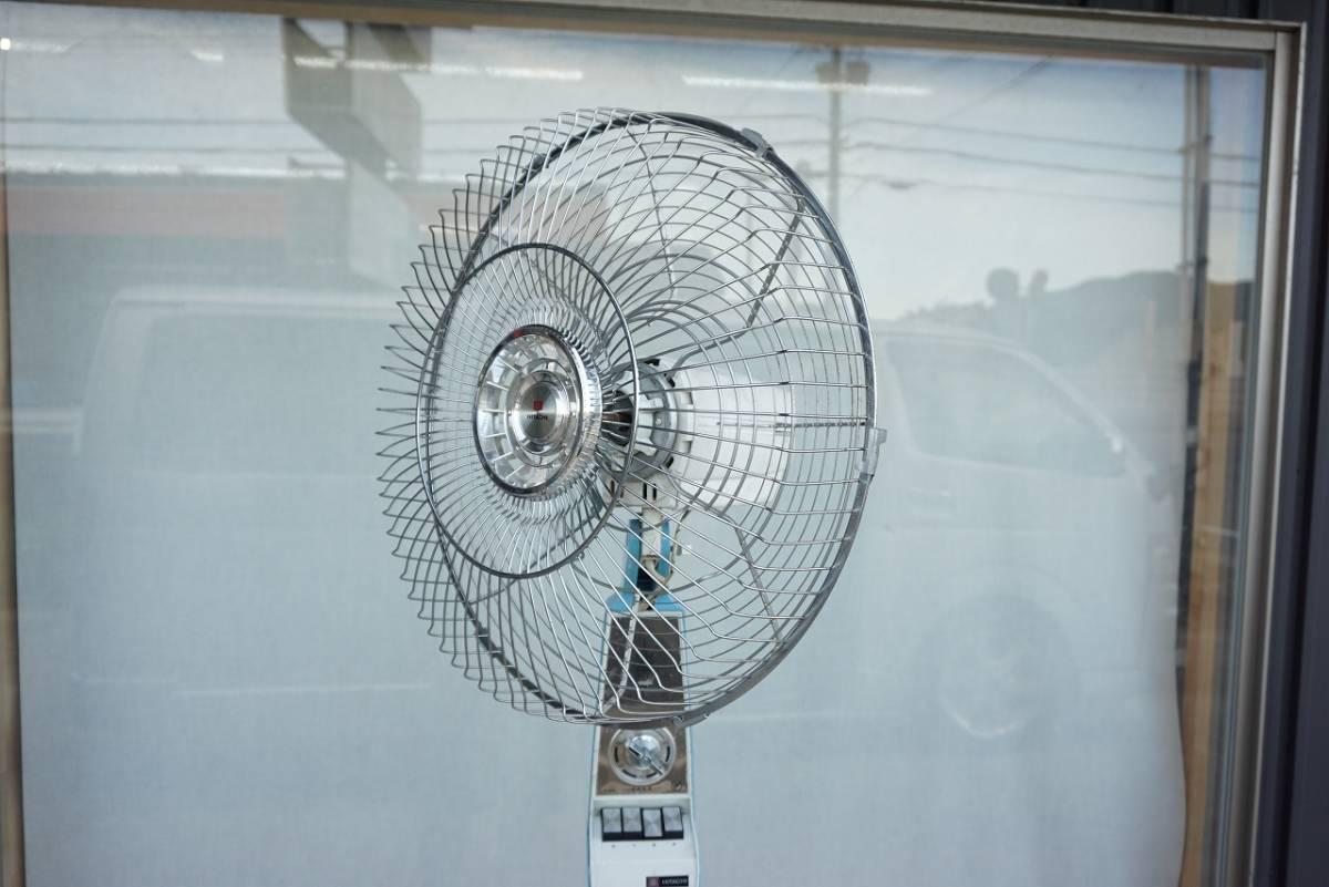 (w08686) ジャンク! HITACHI 大型扇風機!!  40cm羽用? S-858型_画像3