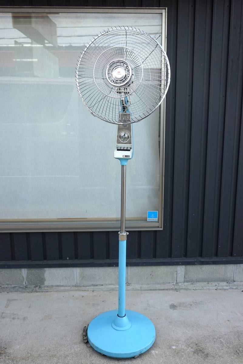 (w08686) ジャンク! HITACHI 大型扇風機!!  40cm羽用? S-858型
