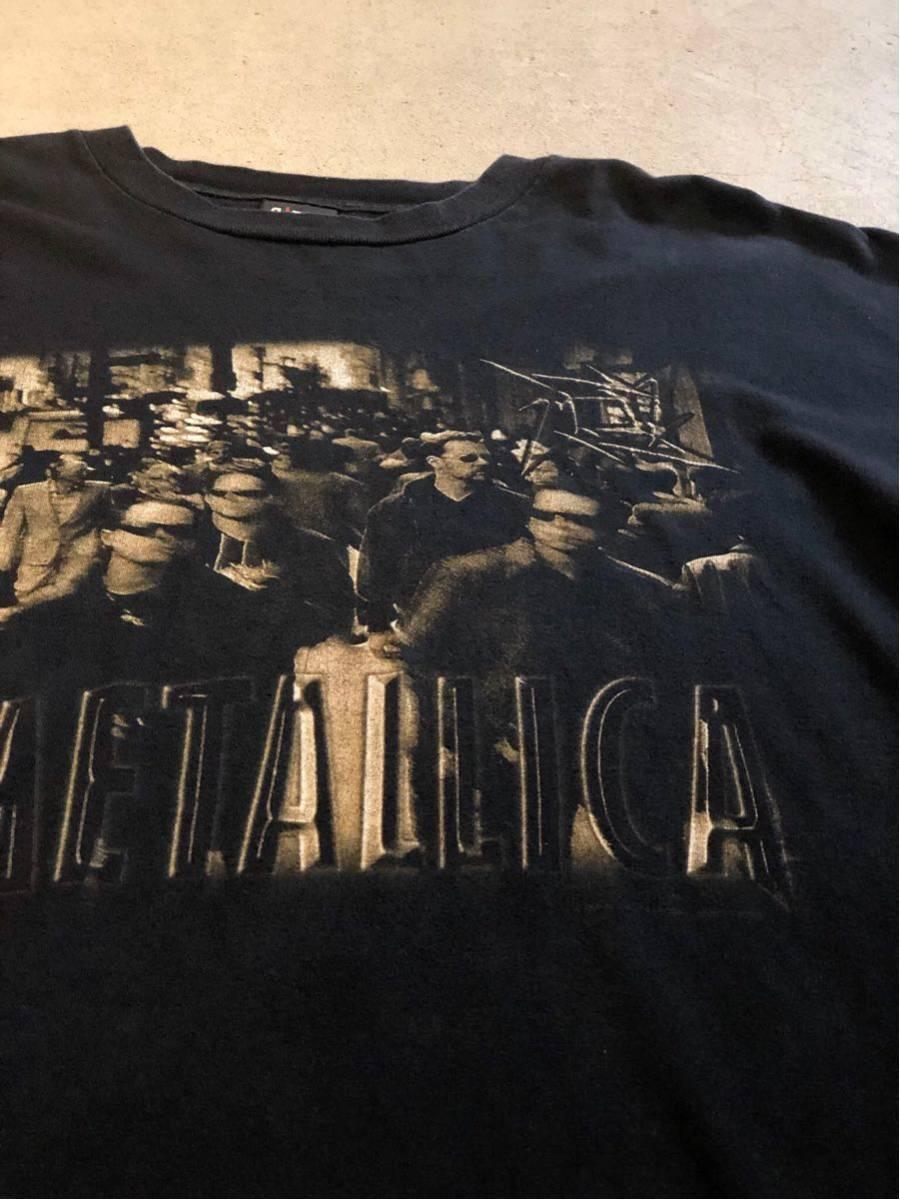 90's メタリカ METALLICA Tシャツ バンドTシャツ ロックTシャツ ヴィンテージ 古着 USA 黒_画像1