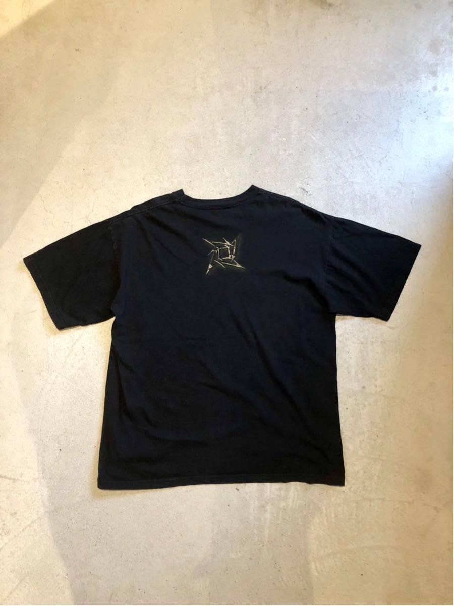 90's メタリカ METALLICA Tシャツ バンドTシャツ ロックTシャツ ヴィンテージ 古着 USA 黒_画像3