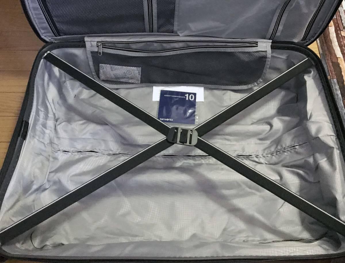 展示品 2個セット ★ 新作 サムソナイト TECH TWO 2 スーツケース グレー 27インチ & 21インチ TSAロック 4輪 ポリカーボネート samsonite_画像8