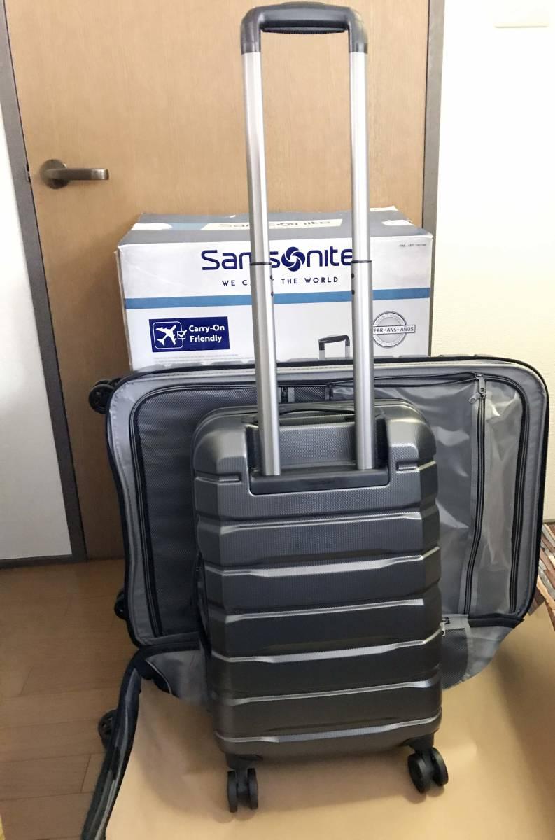 展示品 2個セット ★ 新作 サムソナイト TECH TWO 2 スーツケース グレー 27インチ & 21インチ TSAロック 4輪 ポリカーボネート samsonite_画像6