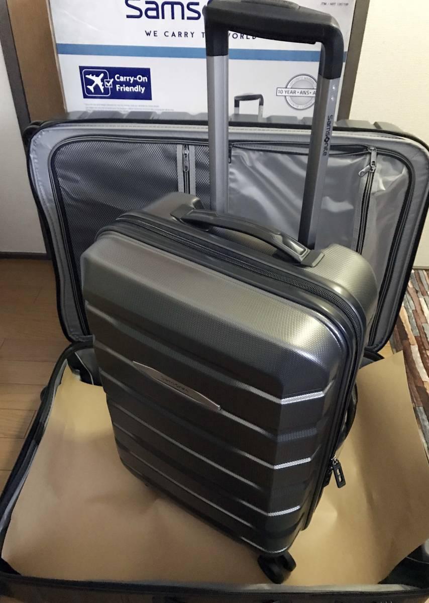 展示品 2個セット ★ 新作 サムソナイト TECH TWO 2 スーツケース グレー 27インチ & 21インチ TSAロック 4輪 ポリカーボネート samsonite_画像5
