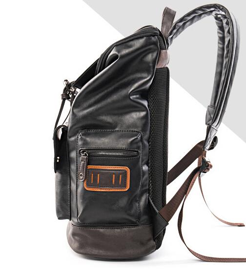 【超高級定価】 大人気美品 100%高品質 通勤 リュック ブラックメンズバッグ デイパック O-62_画像2