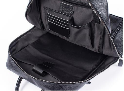 超人気☆ リュックサック 男女兼用バッグ 本革 レザー スタイリッシュ 品質保証 多機能 大容量 通勤 出張 旅行S29_画像6