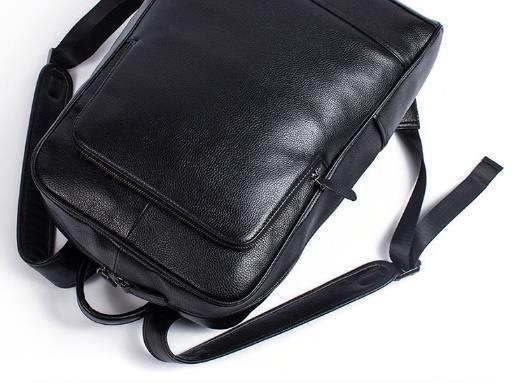 超人気☆ リュックサック 男女兼用バッグ 本革 レザー スタイリッシュ 品質保証 多機能 大容量 通勤 出張 旅行S29_画像5