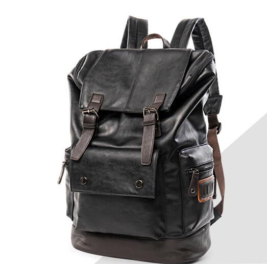 【超高級定価】 大人気美品 100%高品質 通勤 リュック ブラックメンズバッグ デイパック O-62