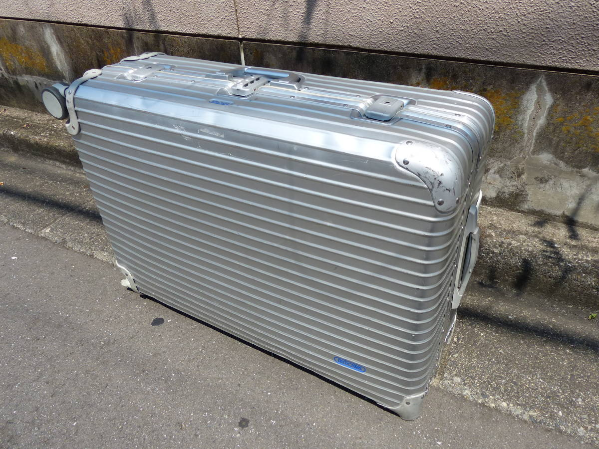 ① RIMOWA/リモワ トパーズ 98L 4輪 マルチホイール 932.77 スーツケース