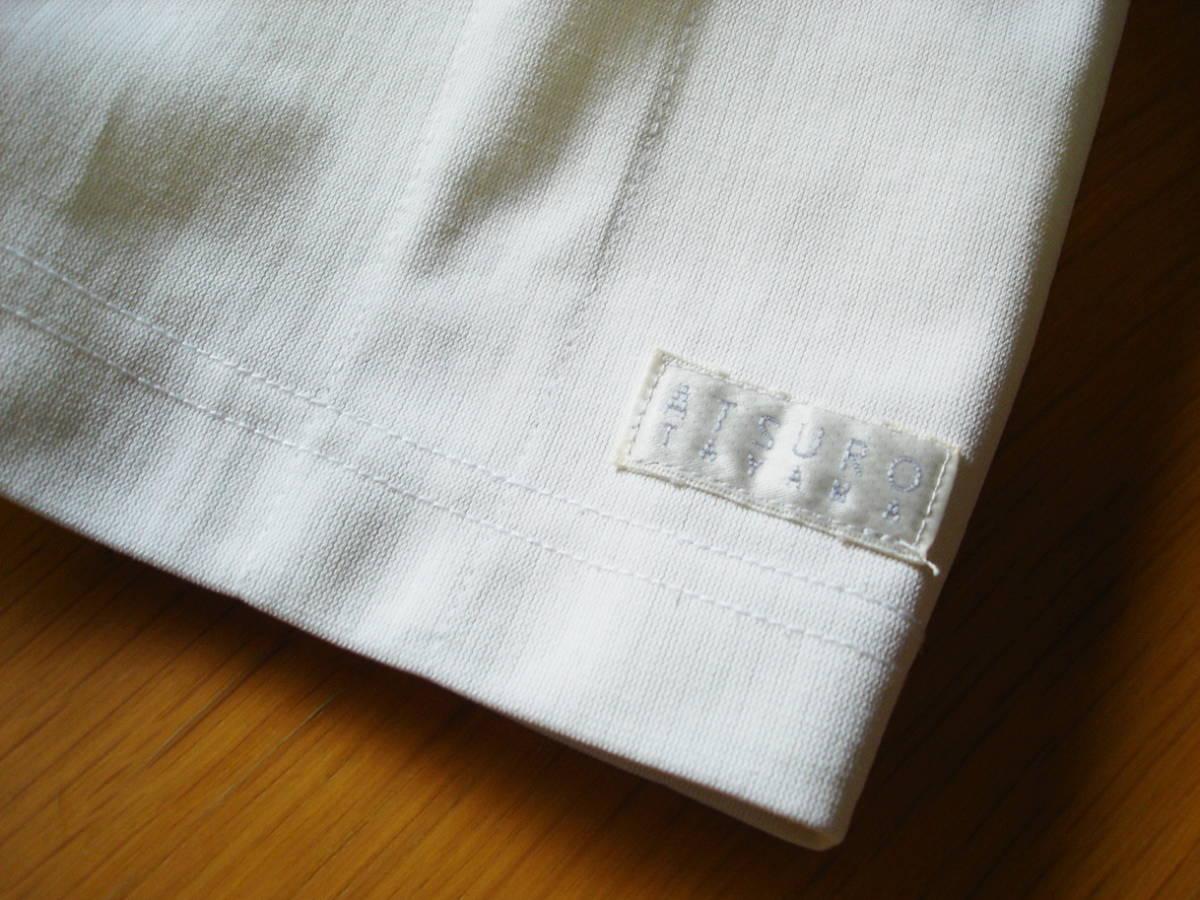 ナガイレーベン アツロウタヤマ メンズジャケット 半袖 ホワイト サイズ L ATA-1855 医務衣 白衣 _画像3