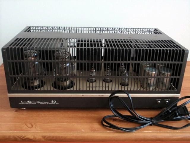 LUXMAN ラックスマン 真空管パワーアンプ MQ80 ジャンク品