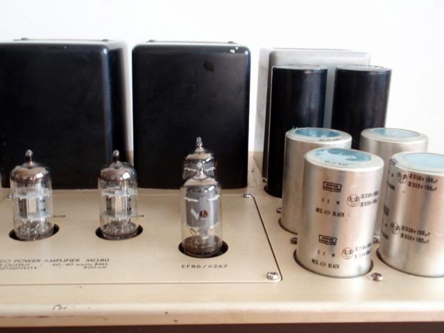 LUXMAN ラックスマン 真空管パワーアンプ MQ80 ジャンク品_画像6