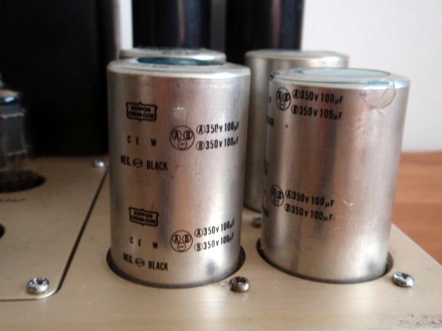 LUXMAN ラックスマン 真空管パワーアンプ MQ80 ジャンク品_画像7