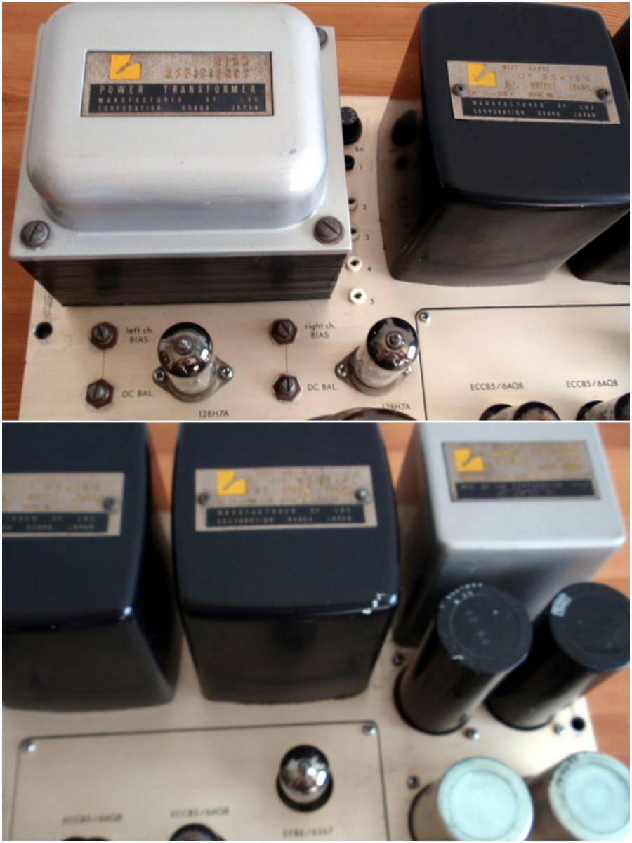 LUXMAN ラックスマン 真空管パワーアンプ MQ80 ジャンク品_画像5