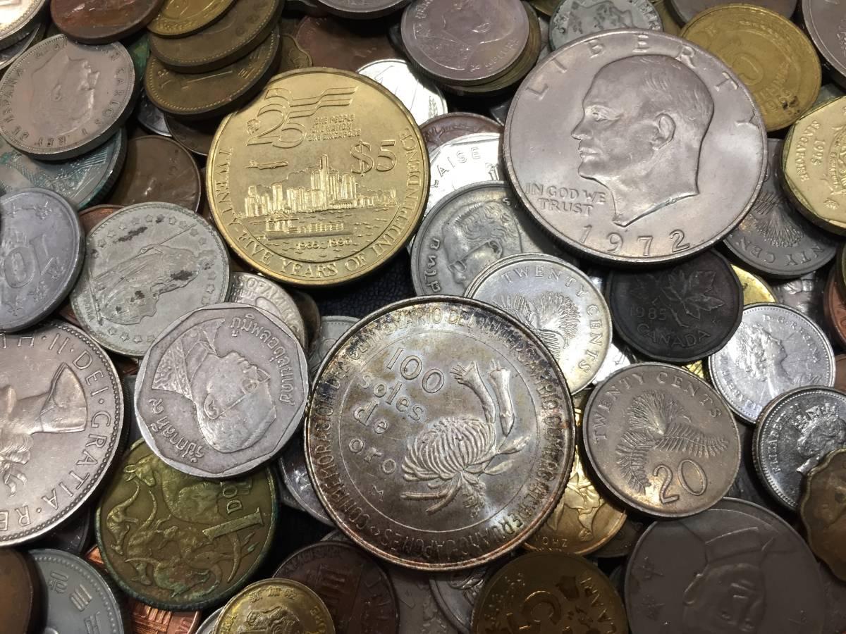 外国銭おまとめ 紙幣 硬貨 ドル紙幣 リバティ―_画像2