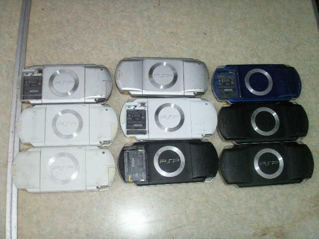 9台 SONY PSP-1000 本体 9個 一応ジャンクで_画像2