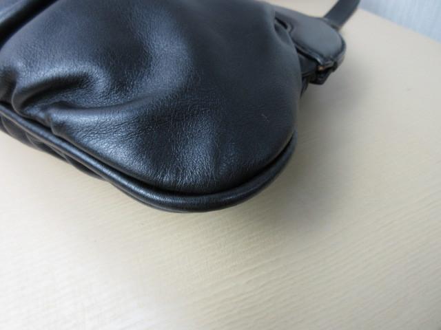 美品■トッズ TOD'S■ハンド バッグ トートバッグ レザー ブラック オシャレ鞄 ag4372_画像4