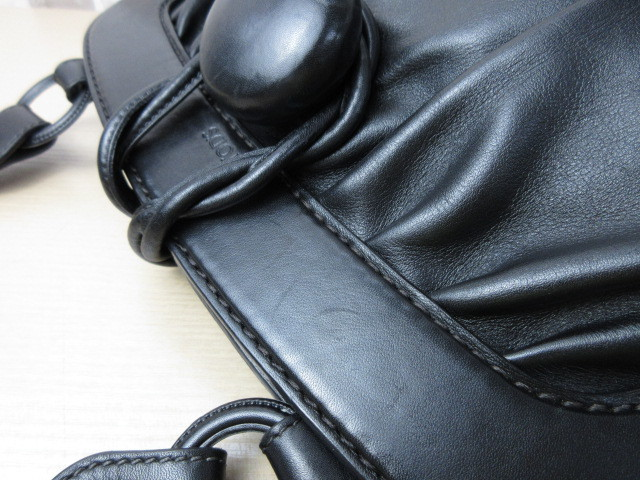 美品■トッズ TOD'S■ハンド バッグ トートバッグ レザー ブラック オシャレ鞄 ag4372_画像6