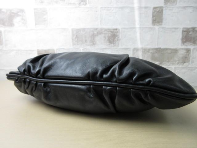 美品■トッズ TOD'S■ハンド バッグ トートバッグ レザー ブラック オシャレ鞄 ag4372_画像9