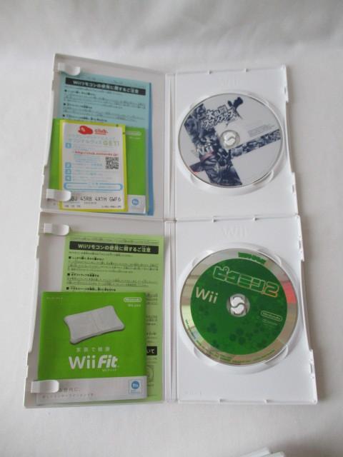 任天堂 Wii本体/付属品セット リモコン2個 ソフト6本セット 中古_画像8