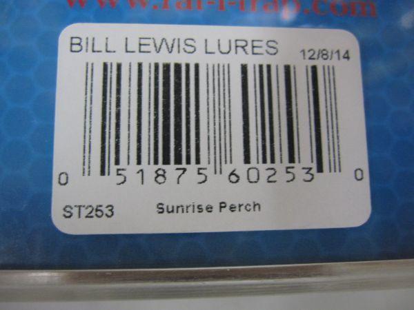 ビルルイス ラトルトラップ スーパートラップ 1・1/2oz ST253 新品_画像2