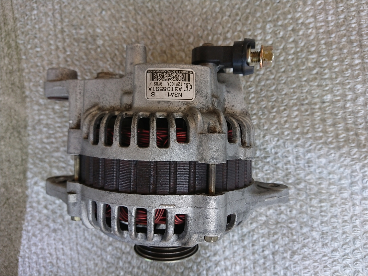 RX-7 FD3S 後期 5型 純正オルタネーター_画像3