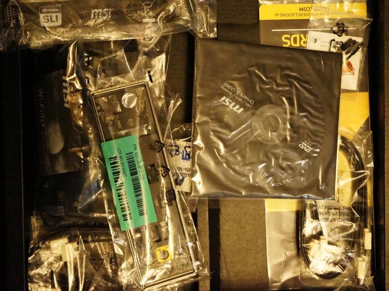 1円スタート MSI製 Z87 MPOER (LGA1150 第4世代インテルCPU) 中古 ジャンク扱い_画像4