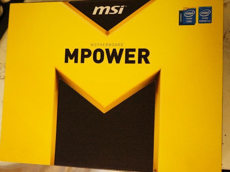 1円スタート MSI製 Z87 MPOER (LGA1150 第4世代インテルCPU) 中古 ジャンク扱い_画像6
