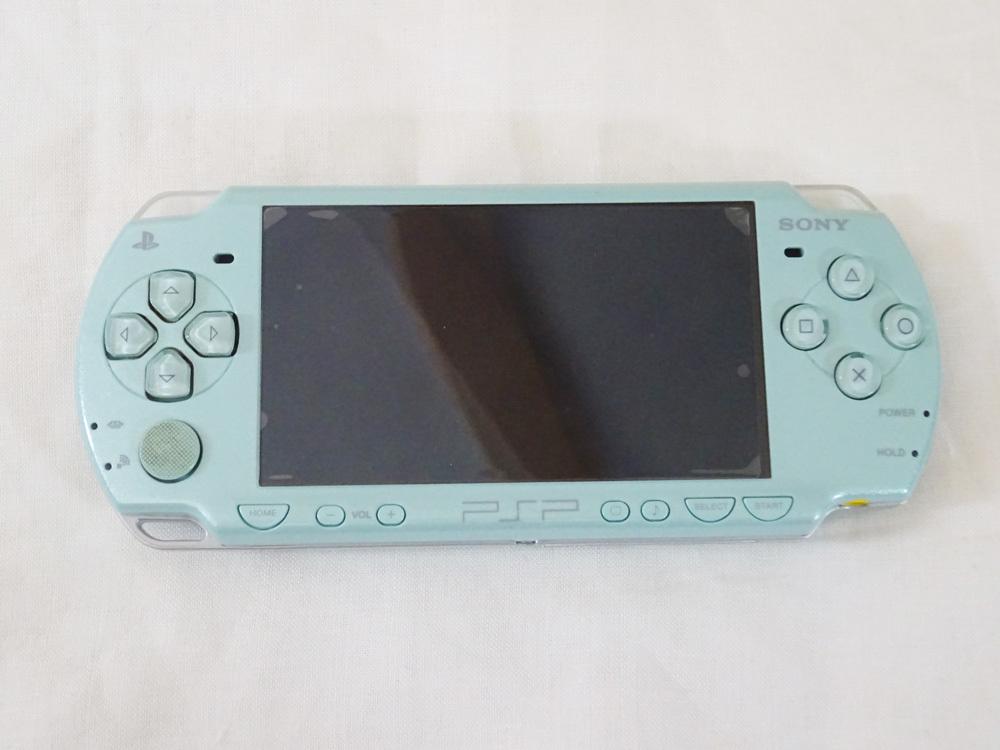 中古 PSP-2000 ミントグリーン_画像2