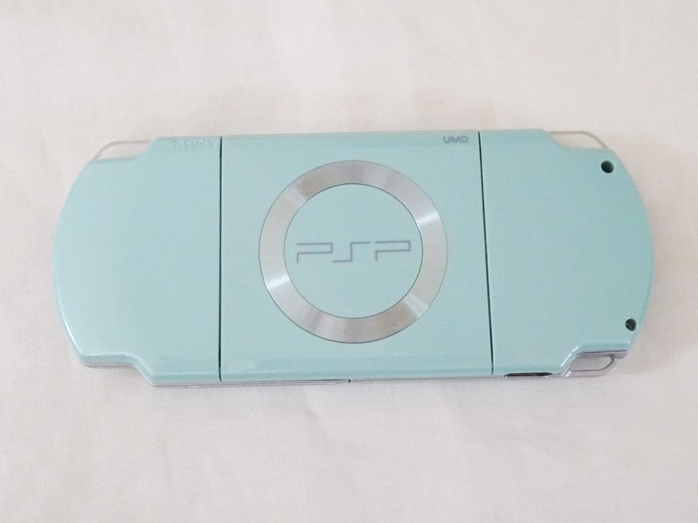 中古 PSP-2000 ミントグリーン_画像3