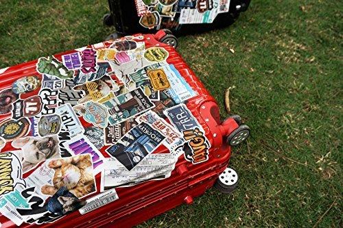 【数量限定!】Chileeany「35枚セット」 防水 ステッカー レトロ ビンテージ スーツケース 防水紙 - スーツケース、_画像7