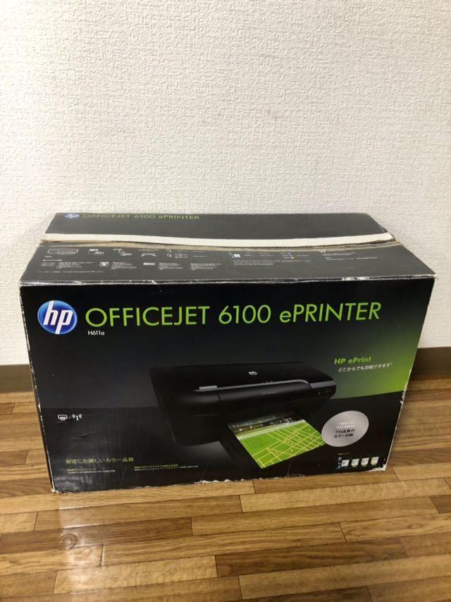 ★ジャンク扱い★HP OFFICEJET 6100 eRINTER プリンター_画像3