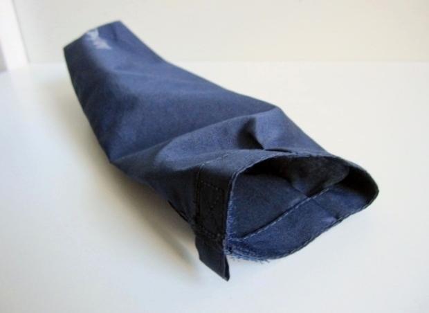綺麗め 軽量 折り畳み傘 アンブレラ ケースのみ 上品 傘 雨傘 Water front ネイビー レア 得 特_画像10