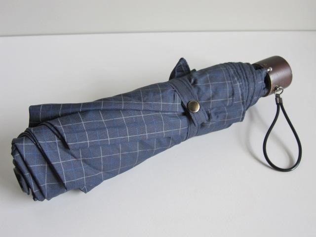 軽量 折り畳み傘 アンブレラ チェック 折りたたみ傘 大判 折り畳み雨傘 上品 チェック柄 軽量 傘 大判 雨傘 ユニセックス レア 格安 得 特_画像3
