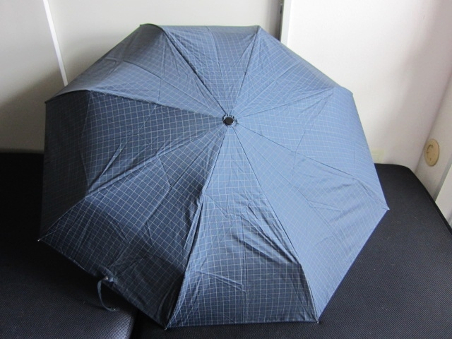 軽量 折り畳み傘 アンブレラ チェック 折りたたみ傘 大判 折り畳み雨傘 上品 チェック柄 軽量 傘 大判 雨傘 ユニセックス レア 格安 得 特_画像6