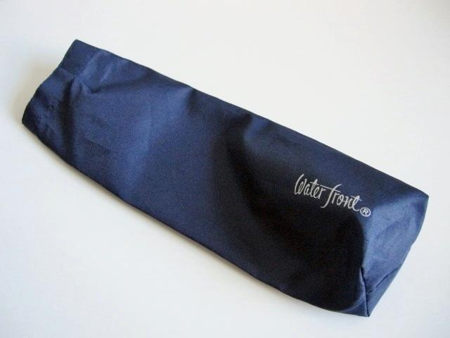 綺麗め 軽量 折り畳み傘 アンブレラ ケースのみ 上品 傘 雨傘 Water front ネイビー レア 得 特_画像1