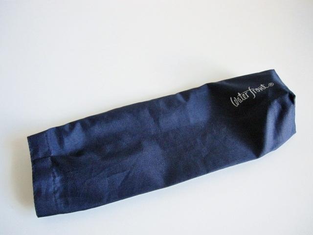 綺麗め 軽量 折り畳み傘 アンブレラ ケースのみ 上品 傘 雨傘 Water front ネイビー レア 得 特_画像4