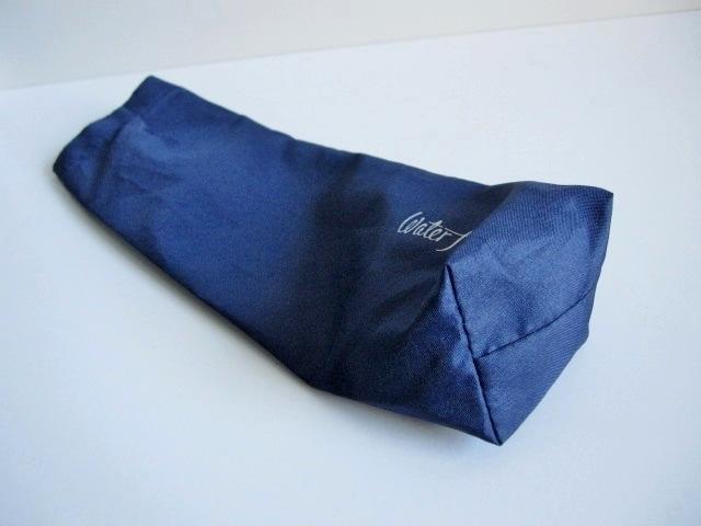 綺麗め 軽量 折り畳み傘 アンブレラ ケースのみ 上品 傘 雨傘 Water front ネイビー レア 得 特_画像6