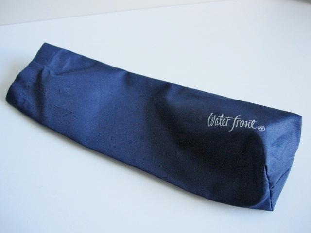 綺麗め 軽量 折り畳み傘 アンブレラ ケースのみ 上品 傘 雨傘 Water front ネイビー レア 得 特_画像8