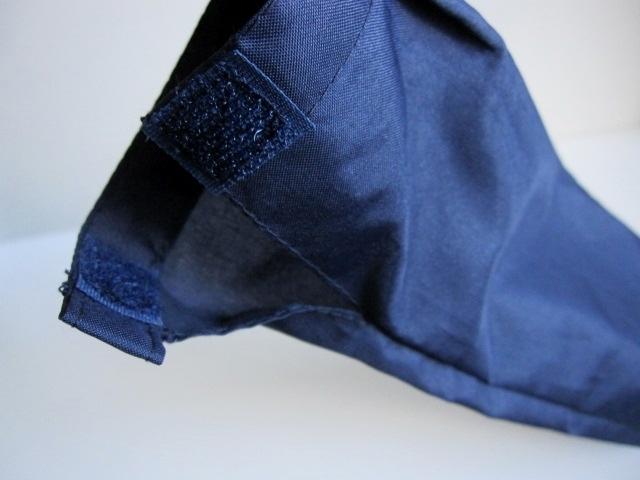 綺麗め 軽量 折り畳み傘 アンブレラ ケースのみ 上品 傘 雨傘 Water front ネイビー レア 得 特_画像9