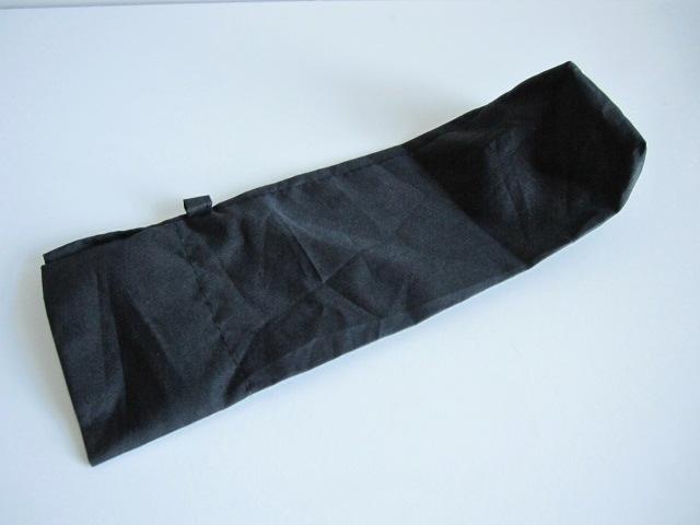 綺麗め 軽量 折り畳み傘 アンブレラ ケースのみ 上品 傘 雨傘 シンプルブラック ユニセックス レア 得 特_画像3