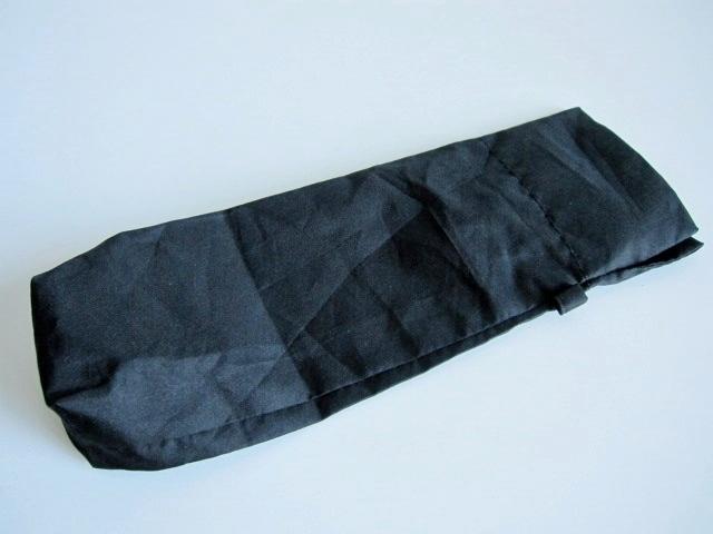 綺麗め 軽量 折り畳み傘 アンブレラ ケースのみ 上品 傘 雨傘 シンプルブラック ユニセックス レア 得 特_画像1