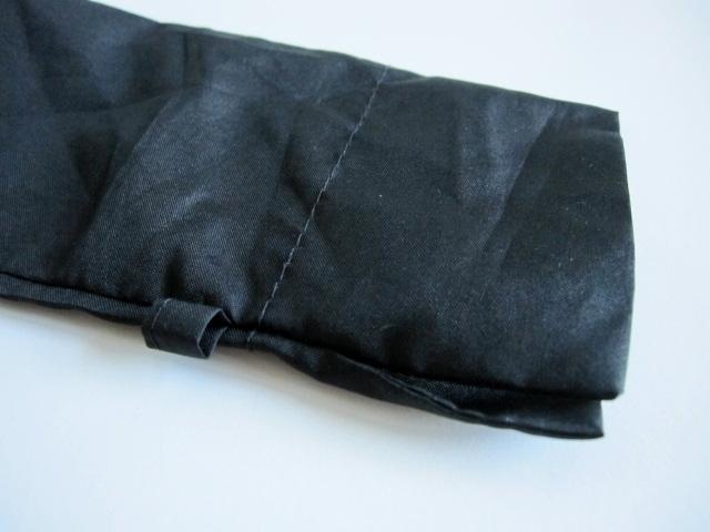 綺麗め 軽量 折り畳み傘 アンブレラ ケースのみ 上品 傘 雨傘 シンプルブラック ユニセックス レア 得 特_画像4