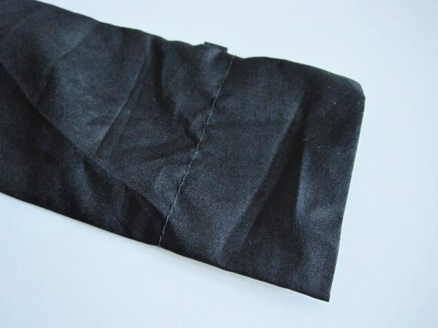 綺麗め 軽量 折り畳み傘 アンブレラ ケースのみ 上品 傘 雨傘 シンプルブラック ユニセックス レア 得 特_画像5