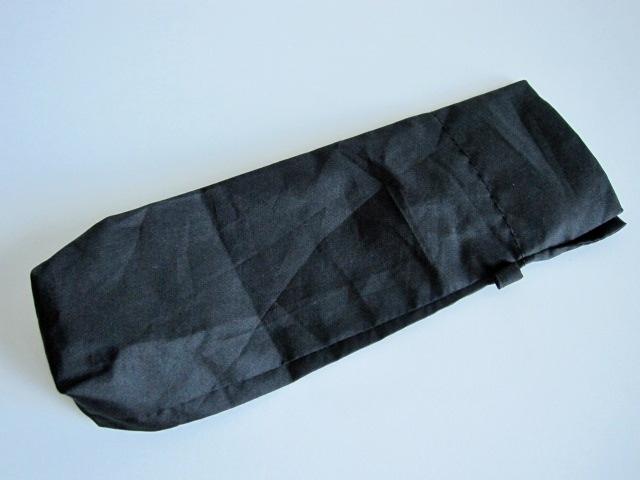 綺麗め 軽量 折り畳み傘 アンブレラ ケースのみ 上品 傘 雨傘 シンプルブラック ユニセックス レア 得 特_画像6