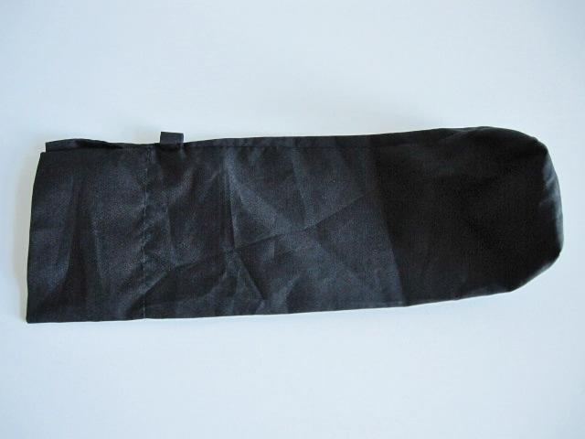 綺麗め 軽量 折り畳み傘 アンブレラ ケースのみ 上品 傘 雨傘 シンプルブラック ユニセックス レア 得 特_画像7